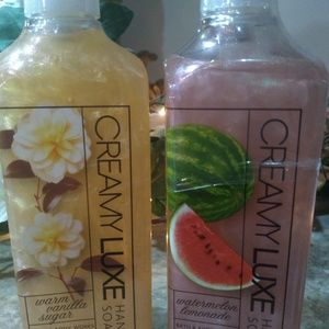 Set of 2 Bath & Body Works hand soap Luxe